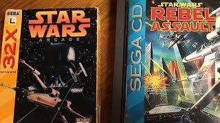 Star Wars Arcade (Sega 32X) / Star Wars: Rebel Assault (Sega CD) James & Mike Mondays