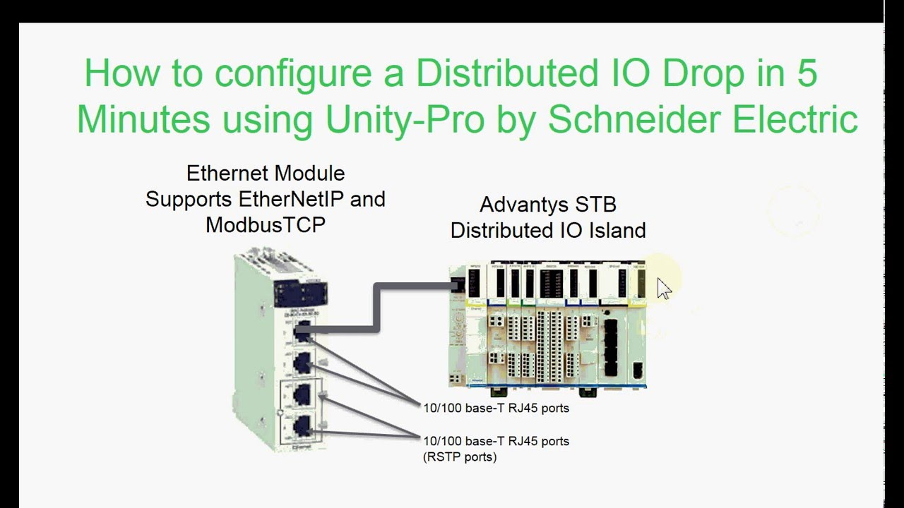 Advantys Stb Configuration From Unity Pro Using Fdt Dtm