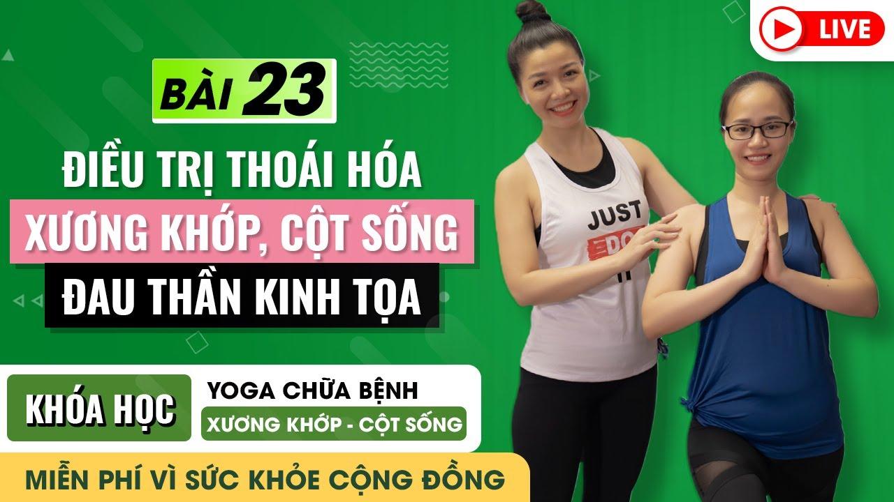 B23. Yoga Cơ Bản Giãn Mềm Toàn Thân - Săn Chắc Mông Đùi, Thon Bụng.