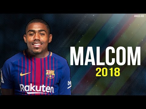Malcom 2018  ● Brazilian Talent - Welcome to FC Barcelona ● Skills & Goalsᴴᴰ