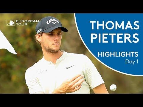 Thomas Pieters Highlights | Round One | 2018 Trophee Hassan II