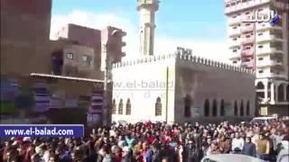 بالفيديو والصور.. أهالي كفر شكر يشيعون أول شهيد في 2016