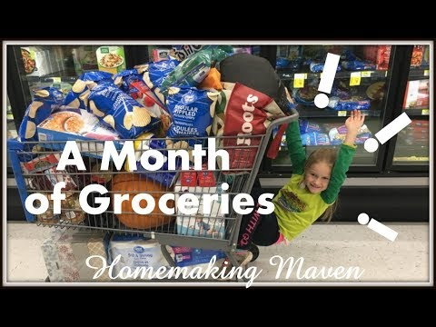 Grocery Shop on a Budget with Me! | Large Family of 7 | Homemaking Maven