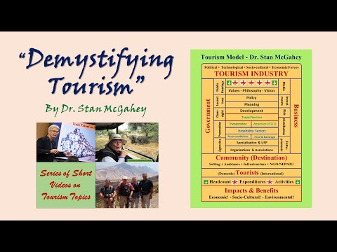 Video #19 Tourism Policy (10 narrated slides, 7:30)