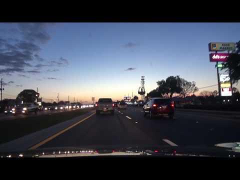Valencia College Orlando Florida Shooting Video on Car