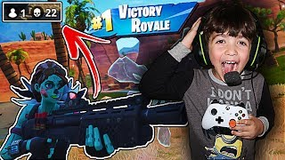 Video MY 3 YEAR OLD LITTLE BROTHER PLAYS FORTNITE FOR THE FIRST TIME!! (BROTHER PLAYS LIKE NINJA!) download MP3, 3GP, MP4, WEBM, AVI, FLV Oktober 2018