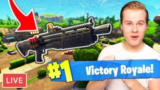 *NEW* HEAVY SHOTGUN IN FORTNITE LIVE!! - Royalistiq Fortnite Livestream (Nederlands)