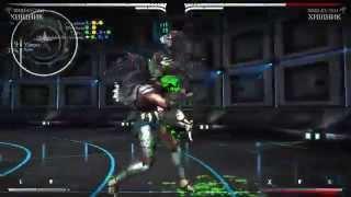 Mortal Kombat X - Хищник Хиш-Ку-Тен Комбо Урок