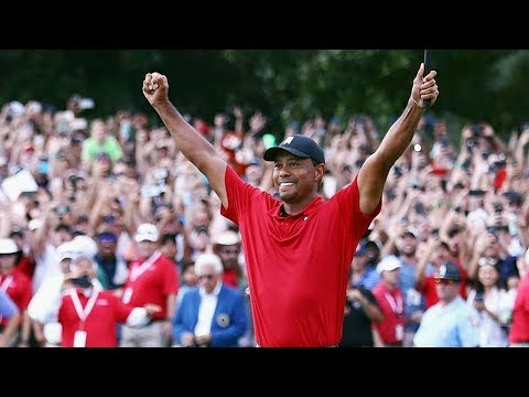 TIGER WOODS - A WINNER AGAIN