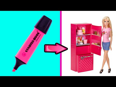 DIY Barbie Ideas And Crafts | Making Easy Crafts Ideas For Barbie Doll | Creative Fun For Kids