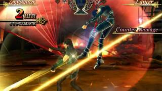 Fate Unlimited Codes - Zero Lancer Vs Lancer