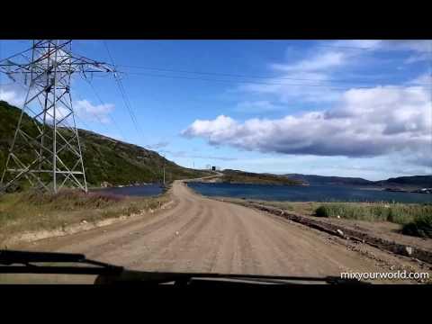 Териберка - Car travel to the Russian Teriberka - Leviathan filming location