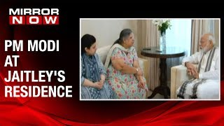 PM Modi meets Arun Jaitley's family, pays his last respects
