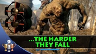 Fallout 4 Giant Creatures Locations Behemoth Mirelurk Queen The Harder They Fall Trophy
