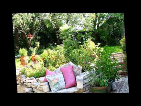 видео: Скамейки в саду  Варианты садовых скамеек