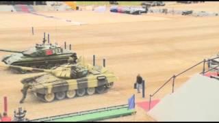 Танковый биатлон. Как у Казахстана забрали 1-е место.