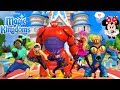 ALL BIG HERO 6 CHARACTERS in Disney Magic Kingdoms
