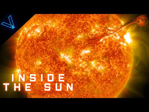 What Does The Inside Of The Sun Look Like? (4K UHD)