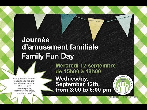 WIC Journée d&39;amusement familiale  Family Fun Day