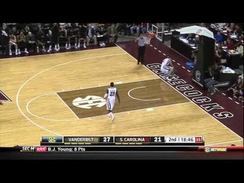 01/19/2013 Vanderbilt vs South Carolina Men