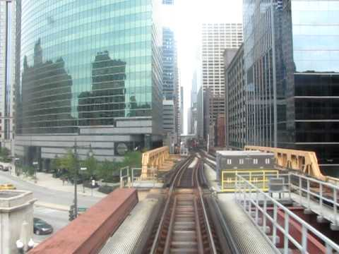 """CTA """"L"""": Green Line from Clark/Lake to Clinton"""