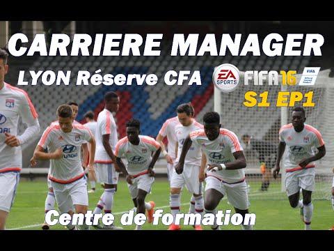 FIFA 16 | Carrière OL Réserve CFA | Matches de préparation ! | S1 EP1