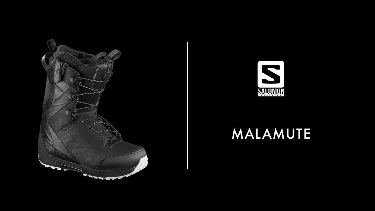 Details about Salomon Malamute Snowboard Boots Men's Size 9.5 Black New 2020