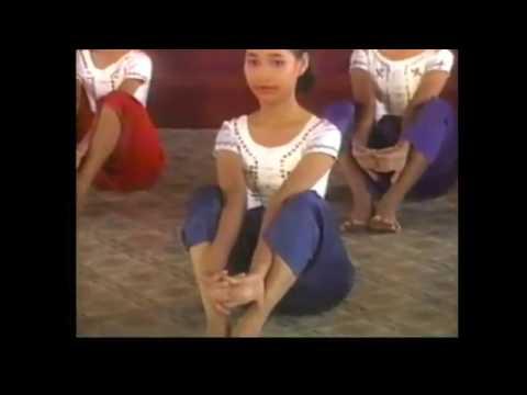 Robam Basic Yoga  culture Khmer 1986 | Yoga  របាំ ហាត់ មូលដ្ឋាន នៃ ក្បាច់ របាំ ១៩៨៦