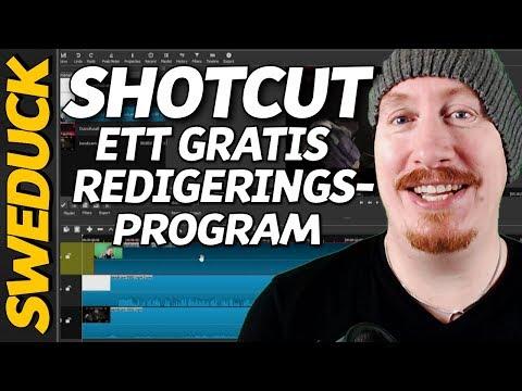 Shotcut Gratis Redigeringsprogram