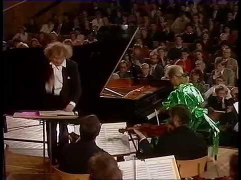 R. Schumann, Koncert fortepianowy a-moll op. 54, Sinfonia Varsovia, Jerzy Maksymiuk, Ewa Osinska