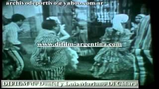 "DiFilm - Espectacular de Libertad Lamarque ""Candombes"" (1964)"