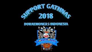Support Gathnas Doraemoners indonesia regional Jayapura (meet and greet dubber doraemon DKK)