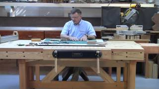Foster Workbench - Using Bench & Drafting Table To Do Marquetry & Parquetry