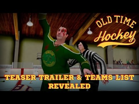 Old Time Hockey – TEASER TRAILER & TEAMS LIST REVEALED