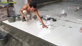 How To Install Floor Tile -  Using Ceramic Tiles