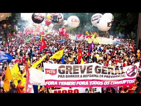 Brazil's Labor Unions Stage Second Strike Against Neoliberal Labor Law Reform