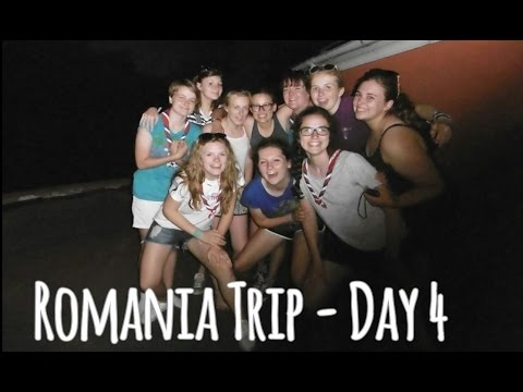 Romania Trip (Day 4) - ACCIDENTS AND SUMMER SCHOOL!