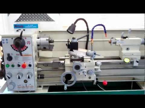 Grizzly G0768 Variable Speed Lathe In Use Doovi