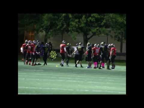 Westinghouse Warriors vs Al Raby Raiders JV Football 2017 (Part 2)