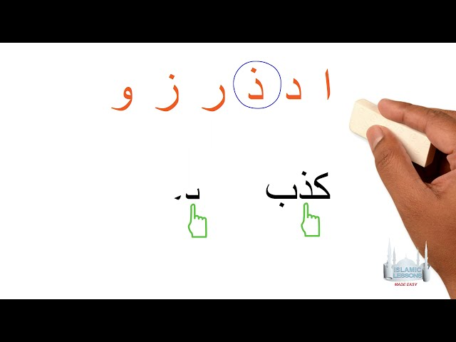 Reading Arabic - Naughty Letters - Lesson 3