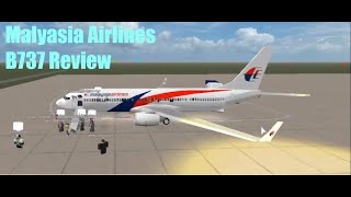 [ROBLOX] Malaysia Airlines Flight Review