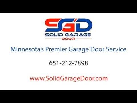 Solid Garage Door | Garage Door Repair and Installation Services | 651-212-7898