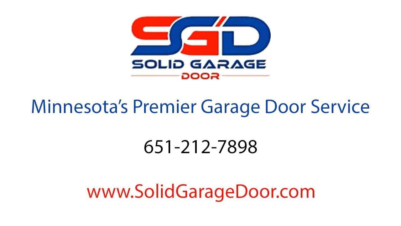 Solid Garage Door | Garage Door Repair And Installation Services |  651 212 7898