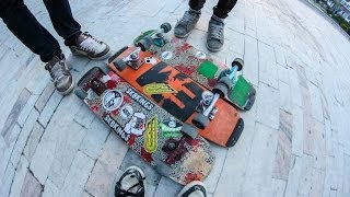 Freestyle skate session in Slatina
