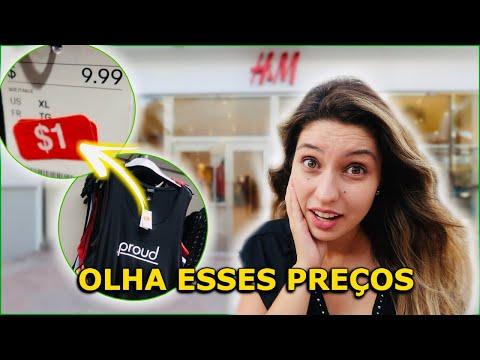 É ABSURDO O PREÇO NA NOVA H&M DO OUTLET PREMIUM INTERNATIONAL DR.