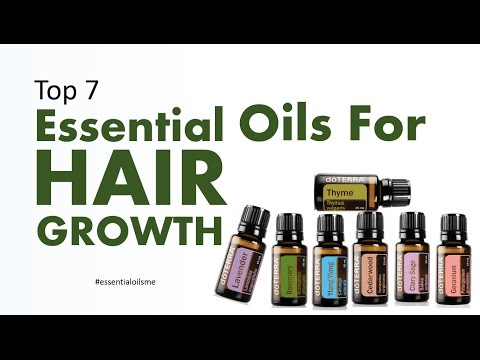 Top 7 Essential Oils For Hair Growth (Part 1)