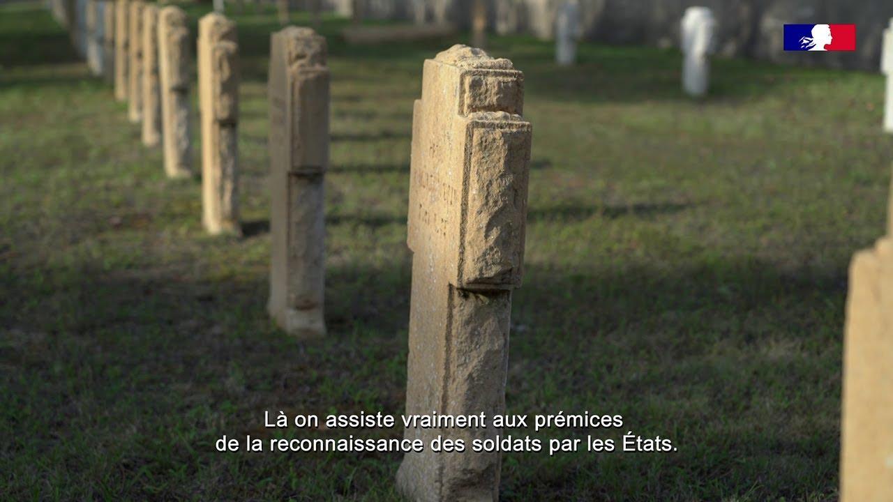 Youtube Video: Le cimetière franco-allemand et la Halle du Souvenir de Gravelotte - E10 - 1870, l'année terrible