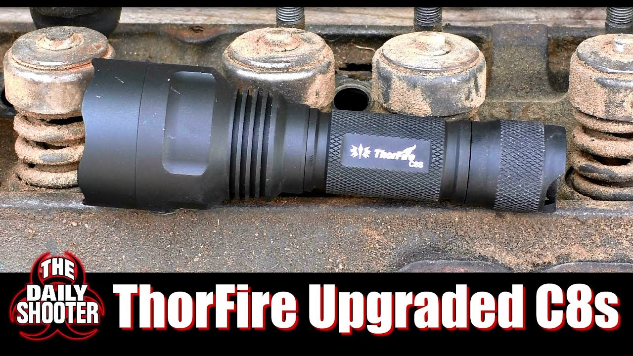 ThorFire Upgraded C8s Flashlight Review Pocket Thrower