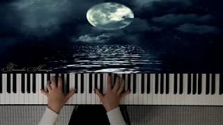Лунная соната. Moonlight Sonata. Beethoven. Perfomence  and Video edition by Bekasova Natalya.