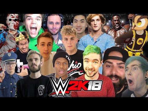 YOUTUBER | Royal Rumble WWE 2K18 thumbnail